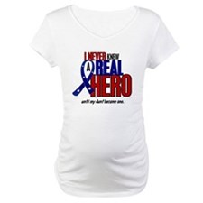Never Knew A Hero 2 Military (Aunt) Shirt