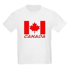 Canadian Flag Kids T-Shirt
