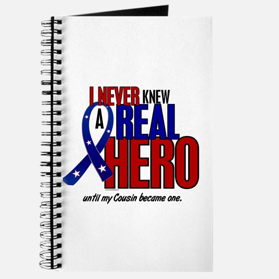Never Knew A Hero 2 Military (Cousin) Journal