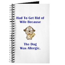 Got Rid of Wife (dog) Journal