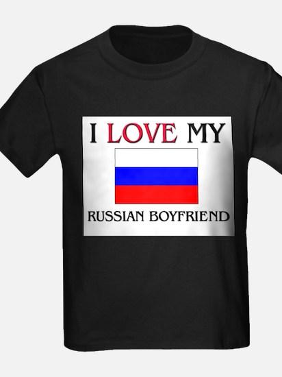 I Love My Russian Boyfriend T