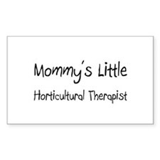 Mommy's Little Horticultural Therapist Sticker (Re