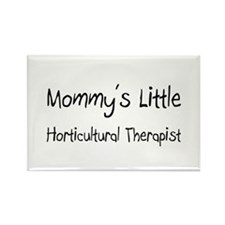 Mommy's Little Horticultural Therapist Rectangle M