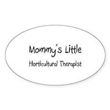 Mommy's Little Horticultural Therapist Sticker (Ov