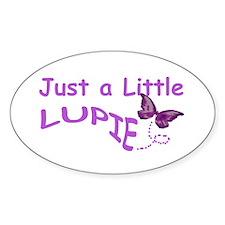 A Little Lupie Oval Sticker (10 pk)
