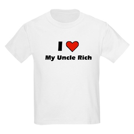 I heart my Uncle Rich Kids Light T-Shirt