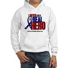 Never Knew A Hero 2 Military (Grandson) Hoodie