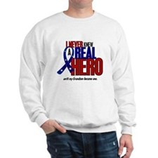 Never Knew A Hero 2 Military (Grandson) Sweatshirt