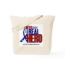 Never Knew A Hero 2 Military (Grandson) Tote Bag