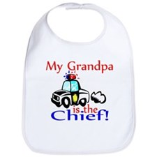 My Grandpa is the Chief Bib