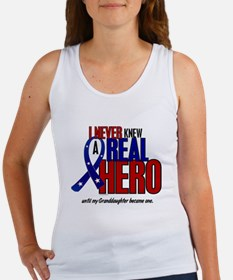 Never Knew A Hero 2 Military (Granddaughter) Women