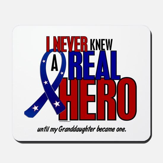 Never Knew A Hero 2 Military (Granddaughter) Mouse
