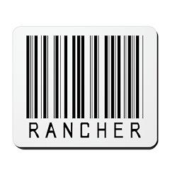 Rancher Barcode Mousepad