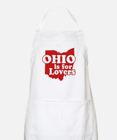 Ohio is for Lovers BBQ Apron