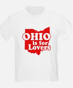 Ohio is for Lovers Kids T-Shirt