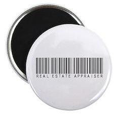 "Real Estate Appraiser Barcode 2.25"" Magnet (100 pa"