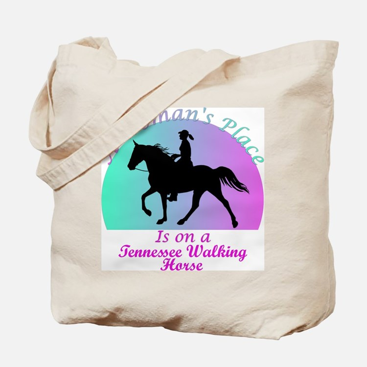 A Woman's Place is on a TWH! Tote Bag