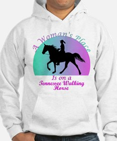 A Woman's Place is on a TWH! Hoodie