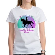 A Woman's Place is on a TWH! Tee