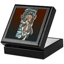 Celtic Wolfen Keepsake Box