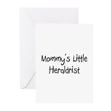 Mommy's Little Heraldrist Greeting Cards (Pk of 10