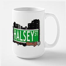 HALSEY ST, BROOKLYN, NYC Large Mug