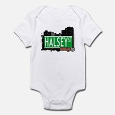 HALSEY ST, BROOKLYN, NYC Infant Bodysuit