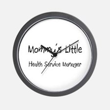 Mommy's Little Health Service Manager Wall Clock