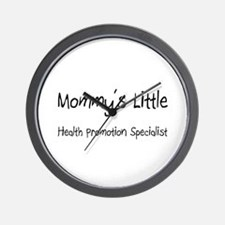 Mommy's Little Health Promotion Specialist Wall Cl