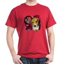 Beagle_Always In My Heart T-Shirt