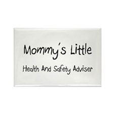 Mommy's Little Health And Safety Adviser Rectangle