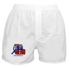 Never Knew A Hero 2 Military (Dad) Boxer Shorts