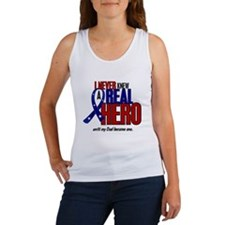 Never Knew A Hero 2 Military (Dad) Women's Tank To