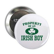Property of an Irish Boy Button