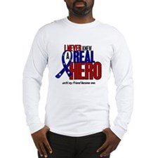 Never Knew A Hero 2 Military (Friend) Long Sleeve
