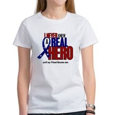 Never Knew A Hero 2 Military (Friend) Tee