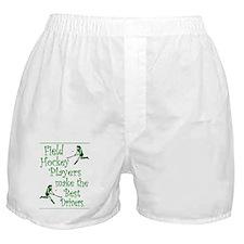 Field Hockey - Green -  Boxer Shorts