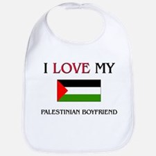 I Love My Palestinian Boyfriend Bib