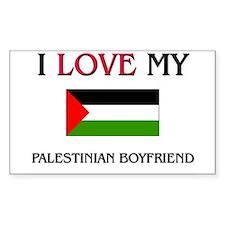 I Love My Palestinian Boyfriend Decal