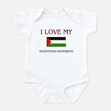 I Love My Palestinian Boyfriend Infant Bodysuit