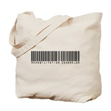 Rehabilitation Counselor Barcode Tote Bag