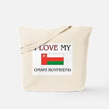 I Love My Omani Boyfriend Tote Bag
