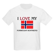 I Love My Norwegian Boyfriend T-Shirt