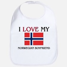 I Love My Norwegian Boyfriend Bib
