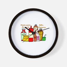 Mr. Saucy Wall Clock