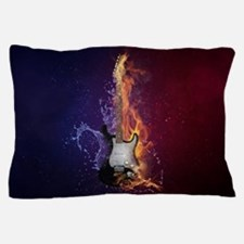 Funny Blue flame Pillow Case