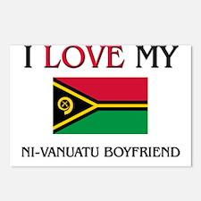 I Love My Ni-Vanuatu Boyfriend Postcards (Package
