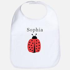 Sophia - Ladybug Bib