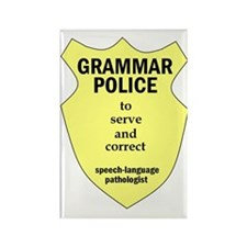 Grammar Police Speech Language Pathologist Rectang