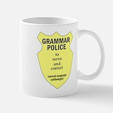 Grammar Police Speech Language Pathologist Mug